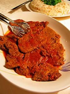 Salçalı biftek