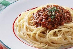 Bolonez Soslu Spaghetti Makarna