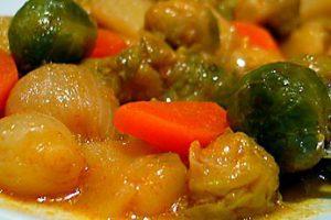 Patatesli Ve Havuçlu Brüksel Lahanası