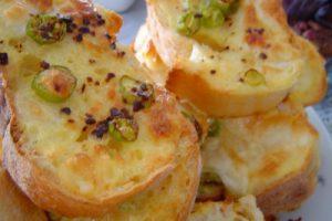 Fırında Omletli Ekmek