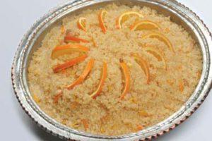 Portakallı İrmik Helvası