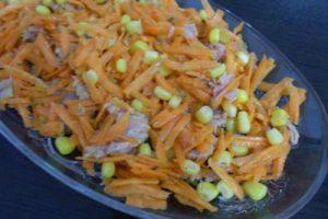 Ton Balıklı Havuç Salatası