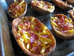 Fırında Patates Kabukları
