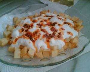Patates Yoğurtlama