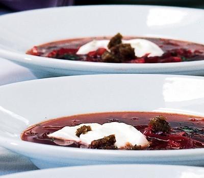 Kırmızı Pancar Çorbası