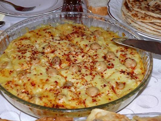 Tavuklu Patates Püresi