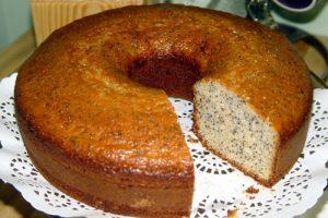Limonlu Haşhaşlı Kek