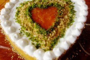 Balkabaklı Kalpi Pasta