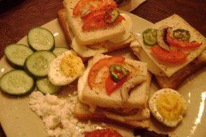 Fırında Yumurtalı Mantarlı Tost Ekmeği