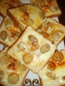 Kızartılmış Mantarlı Ekmek