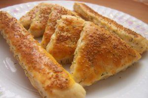 Peynirli Dereotlu Kıtırlar