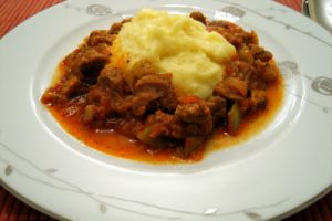 Patates Püreli Et Sote