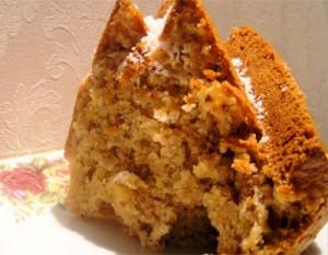 Meyveli tarçınlı kek