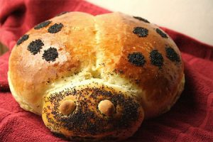 Uğur Böcegi Ekmek Tarifi