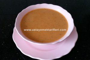 Kremalı Mercimek Çorbası Tarifi